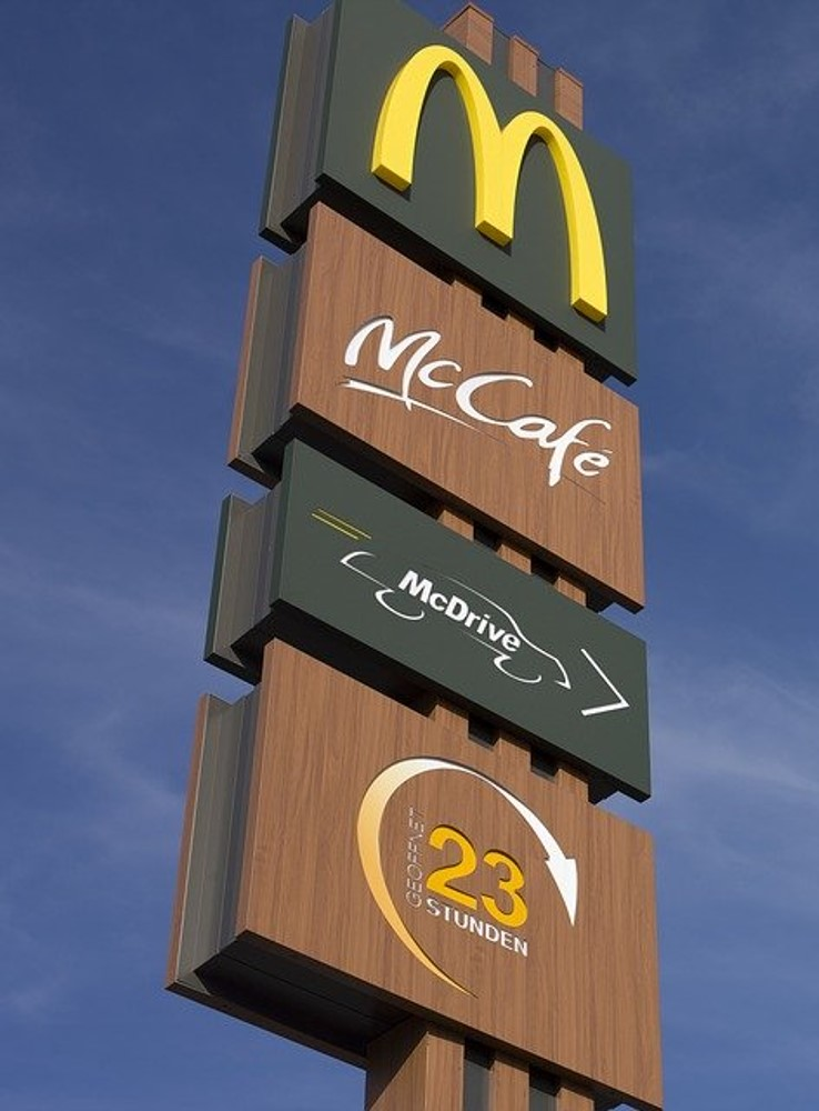 This image has an empty alt attribute; its file name is McDs.jpg